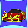 Neue Konzept Auto Färbung Spiel
