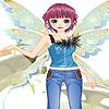Nice angel dress up Spiel