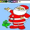 schöne Santa Claus Färbung Spiel