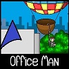 Büro-Mann Spiel