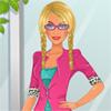 Büro-Barbie Spiel