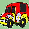 Alte Zeit Auto Färbung Spiel