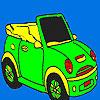Öffnen Sie Sportwagen Färbung Spiel