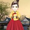 Orientalische Mädchen verkleiden sich Spiel