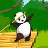 Pandas werfen Spiel