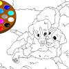 Mich zu malen, Hunde Spiel