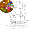 Paint me ship Spiel