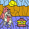 Pearl and insect coloring Spiel