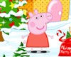 Peppa Pig decorated Christmas Spiel