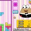 Pou Tetris Spiel