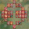 Edelsteine-Mahjong Spiel
