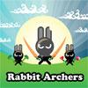 Kaninchen-Bogenschützen Spiel