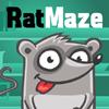 Ratte-Labyrinth Spiel