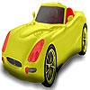 Rot-Sitzer Auto Färbung Spiel