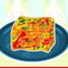 Red Pepper Frittata Quadrate Spiel
