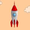 Rakete Typing 2 Spiel