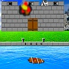 Sailing Ship Castle Attack Spiel