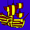 Sail in the sea coloring Spiel