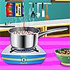 Sardische Hummer Spaghetti Spiel
