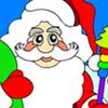 Santa Claus Färbung Spiel