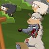 Schaf Land Spiel