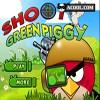 shoot green piggy Spiel