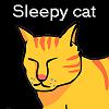 Schläfrige Katze Spiel