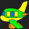 Spezielle Flugzeug Färbung Spiel