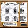 Sport Wordsearch Spiel