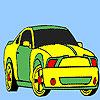 Spektakuläre schnelles Auto Färbung Spiel