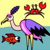Stork Fishing Spiel