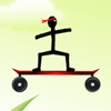 Stickman Skateboard-Bike Challenge Spiel