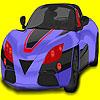 Super Herausforderer Auto Färbung Spiel