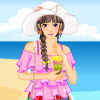 Summer Beach Vacation Dressup Spiel