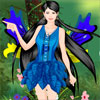Sommer-Fairy Dress Up Spiel