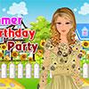 Sommer-Geburtstags-Party Spiel