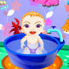 Sweet Baby Bathing Spiel