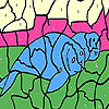 Tired seals coloring Spiel