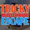 Knifflige Puzzle House Escape Spiel