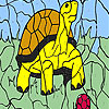 Turtle and ball coloring Spiel