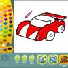 Vehicles coloring pages Spiel