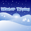 Winter Typing Spiel