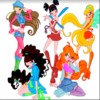 Winx Club Färbung Spiel