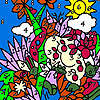 Zoo garden coloring Spiel