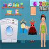 Zoe Waschen von Kleidung Spiel